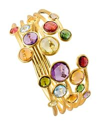 Marco Bicego | Multicolor Jaipur Color 5 Strand Cuff | Lyst