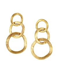 Marco Bicego | Yellow Jaipur Link Drop Earrings | Lyst