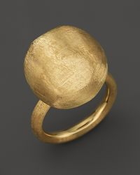"""Marco Bicego - Large 18k Yellow Gold """"africa Gold"""" Ring - Lyst"""