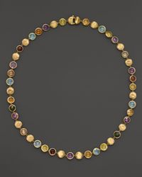 Marco Bicego | Yellow Jaipur Multicolored Necklace, 18"