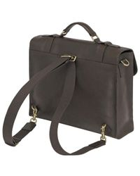 Mulberry Black Messenger for men