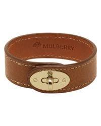 Mulberry Brown Bayswater Bracelet