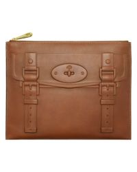 Mulberry Brown Maisie Pouch
