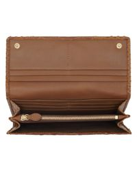 Mulberry Brown Continental Wallet