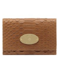 Mulberry Brown French Purse
