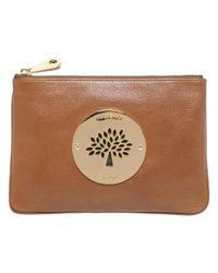 Mulberry Brown Daria Pouch