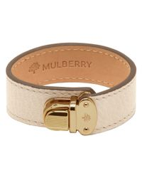 Mulberry Natural Polly Push Lock Bracelet