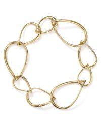 Nadri - Metallic Oval Chain Link Bracelet - Lyst