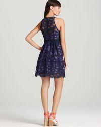 Nanette Lepore Blue Lace Dress Secret Escape