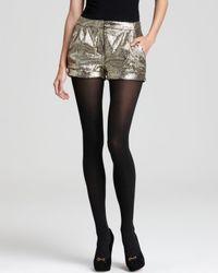 Pjk Patterson J. Kincaid Metallic Shorts Nova Sequin