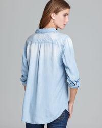Rails Blue Shirt Carter Denim