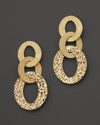 Roberto Coin - 18K Yellow Gold Chic & Shine Earrings - Lyst