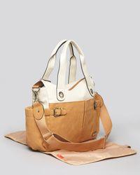 Storksak Brown Baby Bag Kate Color Block