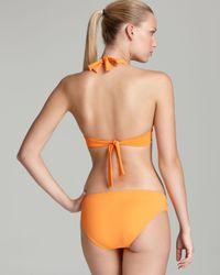 Tommy Bahama Orange Pearl Solids Underwire Molded Cup Bikini Top