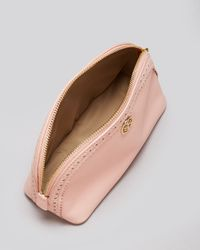 Tory Burch Pink Cosmetic Case Robinson Spectator