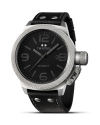 TW Steel Black Canteen Automatic Stainless Steel Watch for men