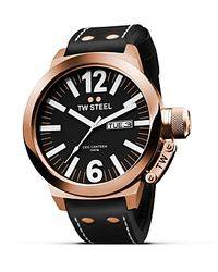 TW Steel Pink Ceo Canteen Rose Gold Pvd Watch, 45mm for men
