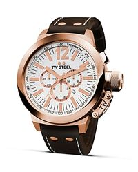 TW Steel Pink Ceo Canteen Rose Gold Pvd Watch 45mm for men