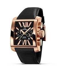 TW Steel Pink Ceo Goliath Rose Gold Pvd Watch, 42Mm for men