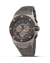 TW Steel Gray Ceo Tech Titanium Pvd Watch, 44Mm for men