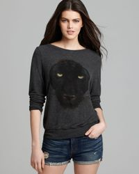Wildfox Pullover Black Panther