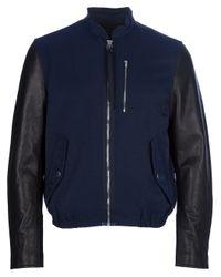 Acne | Blue Brando Jacket for Men | Lyst
