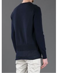 Acne Studios Blue Tyrese Sweater for men