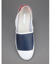 Adidas SLVR - Red Slip On Shoe for Men - Lyst