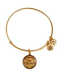 ALEX AND ANI | Metallic Claddagh Bangle | Lyst