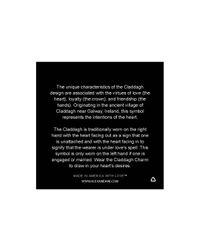 ALEX AND ANI | Metallic Claddagh Bangle | Lyst