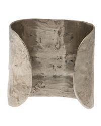 Alexandre Plokhov Metallic Sterling Silver Bracelet for men
