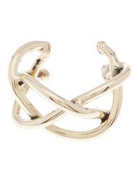 Anndra Neen | Metallic Braided Cuff | Lyst