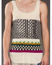 Bernhard Willhelm - Natural Knit Vest for Men - Lyst