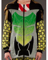 Bernhard Willhelm - Multicolor Patterned Hoodie for Men - Lyst