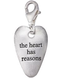 Bjorg Metallic The Heart Has Its Reasons Pendant