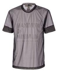 Blaak | Black Printed Mesh T-shirt for Men | Lyst