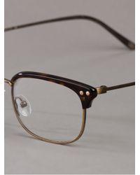 Bottega Veneta - Brown Square Glasses for Men - Lyst