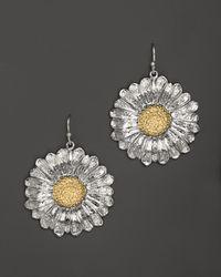 Buccellati | Metallic Daisy Medium Hook Earrings | Lyst