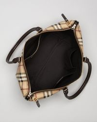 Burberry - Brown Tote Small Salisbury - Lyst