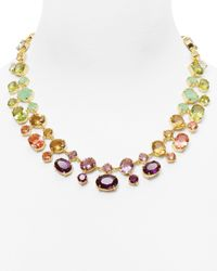 Carolee - Multicolor Dropoff Necklace 18 - Lyst