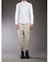 Casely-Hayford - Natural Roll Up Trousers for Men - Lyst