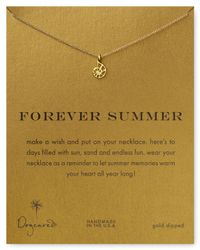 Dogeared - Metallic Forever Summer Necklace 18 - Lyst