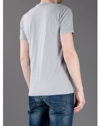Dolce & Gabbana - Gray Photo Print T-shirt for Men - Lyst