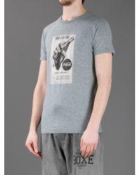 Dolce & Gabbana Gray Coca Cola Print T-shirt for men