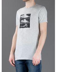 Dolce & Gabbana Gray Marilyn Monroe T-Shirt for men