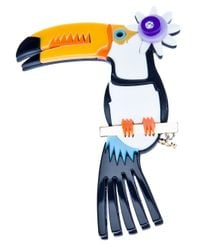 DSquared² | Multicolor Toucan Brooch | Lyst