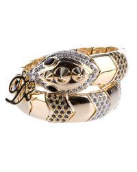 DSquared² - Multicolor Embellished Snake Bracelet - Lyst