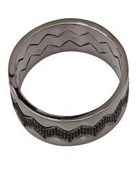 Eddie Borgo - Metallic Pave Bear Trap Bracelet - Lyst