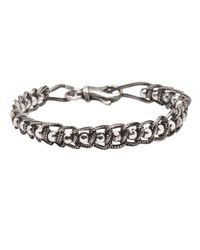 Emanuele Bicocchi | Metallic Mirror Bead Bracelet for Men | Lyst