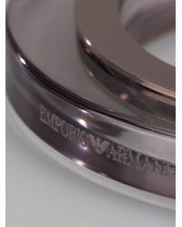Emporio Armani - Multicolor Perspex Bangle - Lyst
